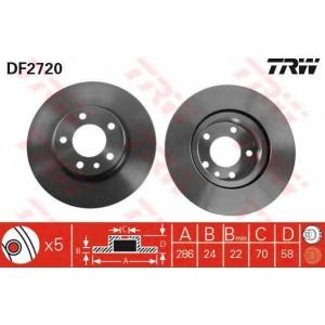 TRW DF2720 DF2720  TRW - Гальмівний диск