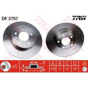df2757 trw {marka_ru} {model_ru}