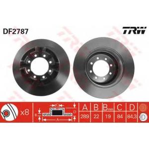 TRW DF2787 Тормозной диск