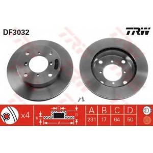 TRW DF3032 Тормозной диск