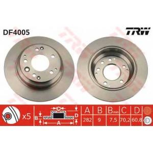 TRW DF4005 Тормозной диск