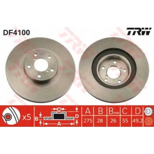 df4100 trw