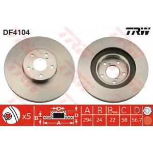 TRW DF4104 Запчасть