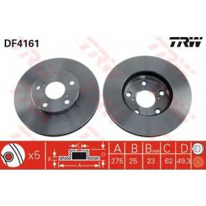 TRW. DF4161 Disk ,Brake