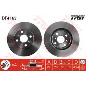 TRW DF4163 Disk ,Brake