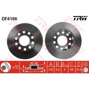 ��������� ���� df4186 trw - AUDI A4 (8E2, B6) ����� 1.8 T