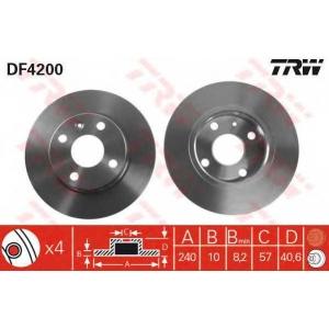 TRW DF4200 Тормозной диск