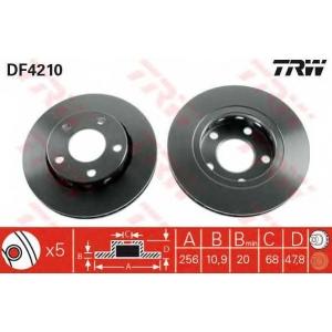 TRW DF4210 Тормозной диск