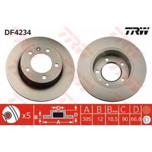 TRW DF4234 Тормозной диск