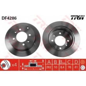 TRW DF4286 Тормозной диск