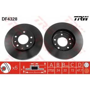 TRW. DF4328 Disk ,Brake