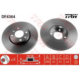 df4364 trw