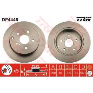 TRW DF4446 Тормозной диск