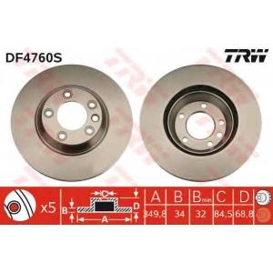 ��������� ���� df4760s trw - PORSCHE CAYENNE �������� �������� 4.8 Turbo