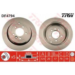 TRW DF4794 Диск гальмівний