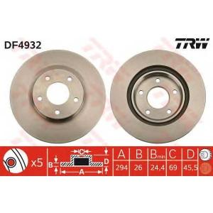 TRW DF4932 br/disc