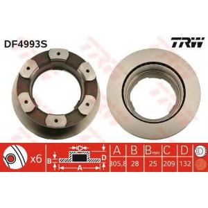 TRW DF4993S TRW AUTOMOTIVE