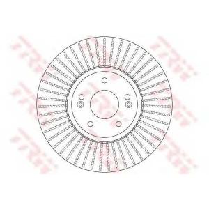 TRW DF6222 Тормозной диск