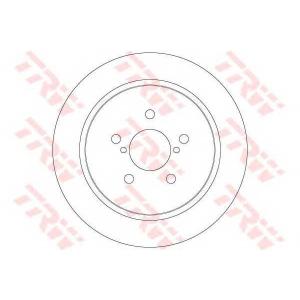 TRW DF6290 Диск гальмівний (комп. 2 шт) SUBARU Legacy/Outback \R D=273,8mm \03-09