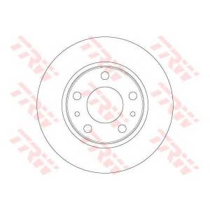 TRW DF6412 Тормозной диск