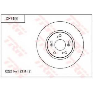 TRW DF7199 BRAKE DISC ROTOR