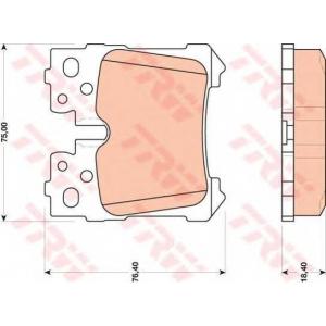 �������� ��������� �������, �������� ������ gdb3475 trw - LEXUS LS (UVF4_, USF4_) ����� 460