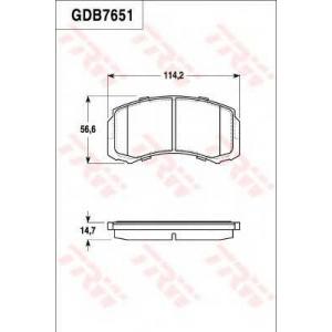 LUCAS GDB7651