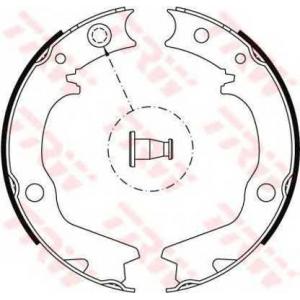 TRW AUTOMOTIVE GS8479 Гальмівні колодки, барабанні