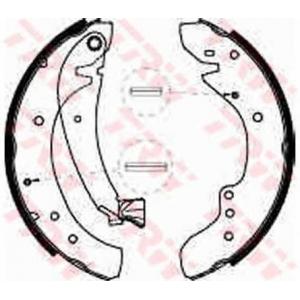 TRW GS8545 АКЦІЯ!!! Гальмівні колодки барабанні CITROEN - FIAT - PEUGEOT Jumper 27/Jumper 31/Relay 1000/Relay 1