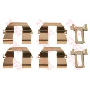 TRW PFK428 Монтажный комплект дисковых колодок FORD GALAXY; SEAT ALHAMBRA; VW SHARAN, TRANSPORTER IV 1.8-2.8 09.95-03.10