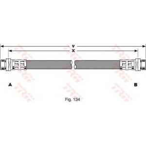 TRW PHA293 Тормозной шланг