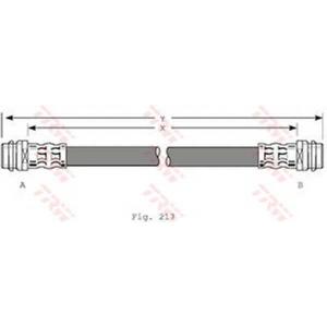 TRW AUTOMOTIVE PHA341 Гальмівний шланг