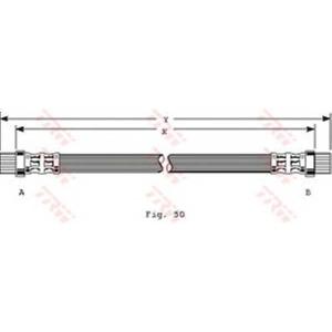 TRW PHA358 PHA358  TRW - Гальмівний шланг