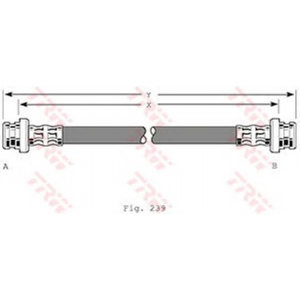 TRW PHA360 Тормозной шланг