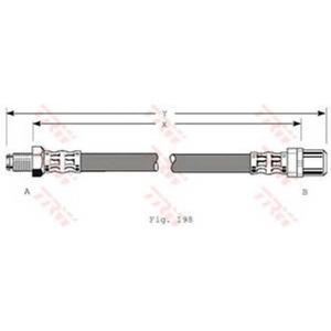 TRW AUTOMOTIVE PHB347 Гальмівний шланг