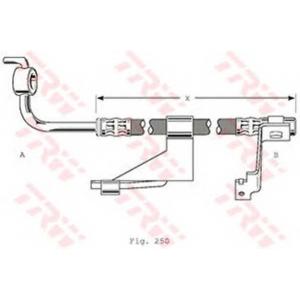TRW PHD363 Тормозной шланг