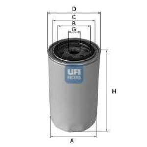 UFI 23.167.00 Масляный фильтр