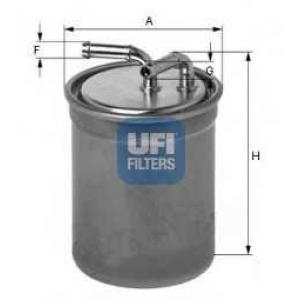 UFI 24.016.00 Топливный фильтр
