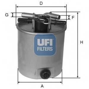 UFI 24.026.01 Топливный фильтр