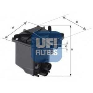 UFI 24.027.00 Топливный фильтр