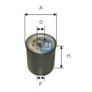 UFI 24.331.00 Топливный фильтр