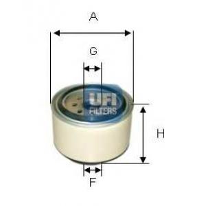 UFI 24.338.00 Топливный фильтр