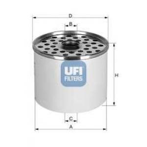UFI 24.360.00 Топливный фильтр