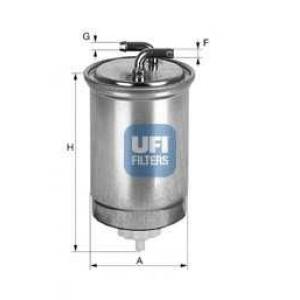 UFI 24.365.00 Топливный фильтр