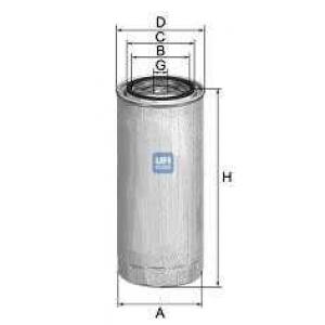 UFI 24.370.00 Топливный фильтр