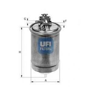 UFI 24.400.00 Топливный фильтр