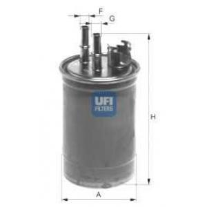 UFI 24.409.00 Топливный фильтр