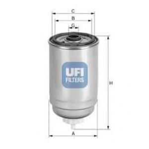 UFI 24.414.00 Топливный фильтр
