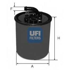 UFI 24.416.00 Топливный фильтр