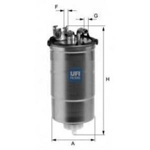 UFI 24.428.00 Топливный фильтр